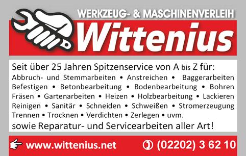 Werkzeug- und Maschinenverleih Wittenius